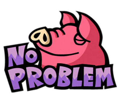 Pinky Pig - Cute stickers for iMessage messages sticker-6
