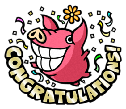 Pinky Pig - Cute stickers for iMessage messages sticker-10