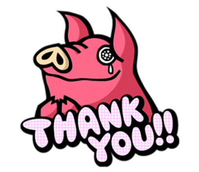 Pinky Pig - Cute stickers for iMessage messages sticker-8