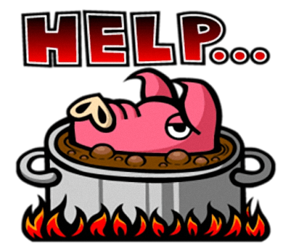 Pinky Pig - Cute stickers for iMessage messages sticker-4