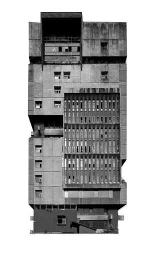 Brutalist Buildings messages sticker-3