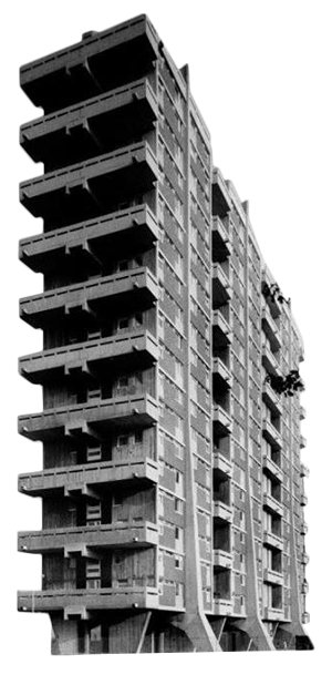 Brutalist Buildings messages sticker-8