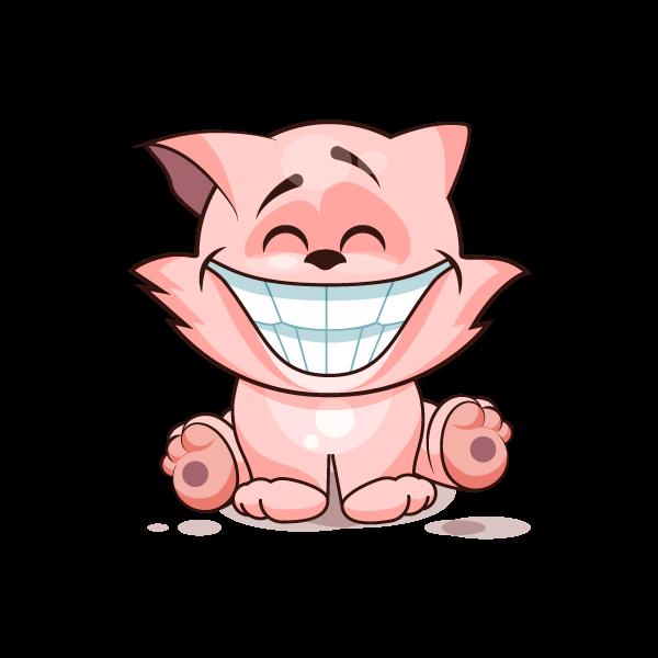 Adorable Cat Emoji Stickers messages sticker-1