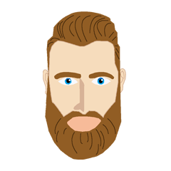 Bearded Hipster messages sticker-11