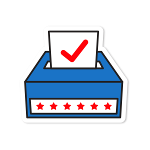 Go Vote Stickers messages sticker-4
