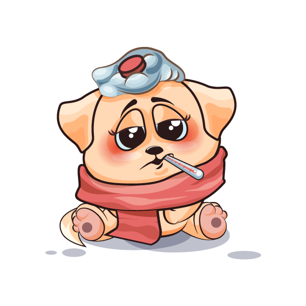 Adorable Dog Emoji Stickers messages sticker-11