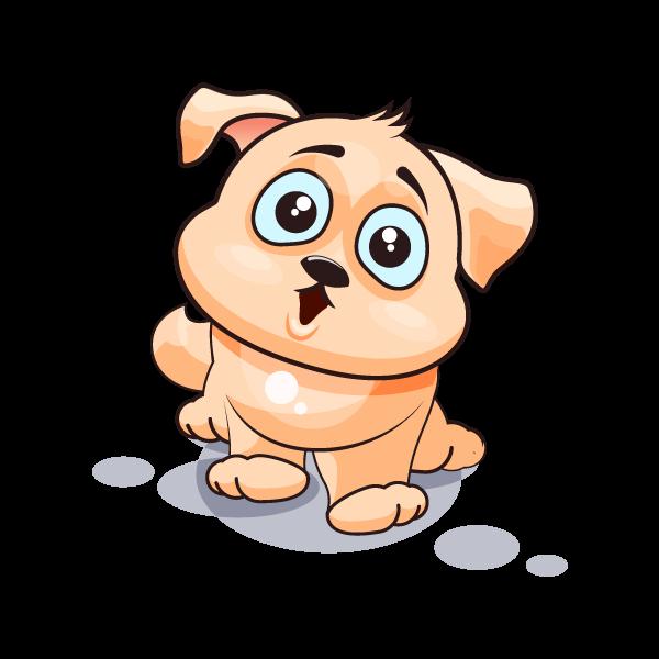 Adorable Dog Emoji Stickers messages sticker-6