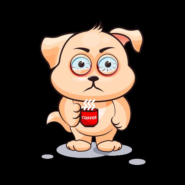 Adorable Dog Emoji Stickers messages sticker-9