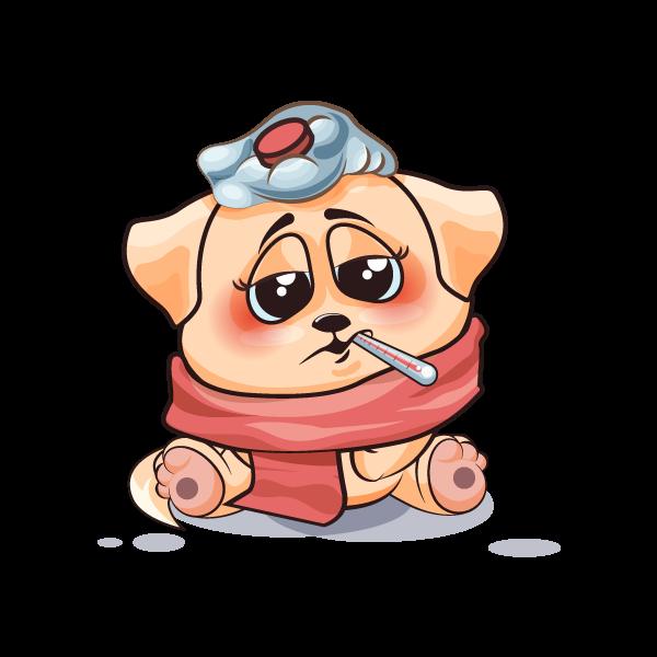 Adorable Dog Emoji Stickers messages sticker-11