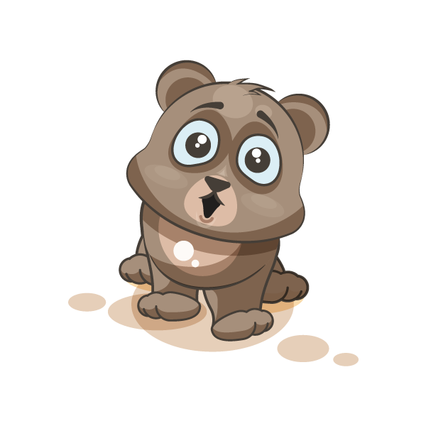 Adorable Bear Emoji Stickers messages sticker-6
