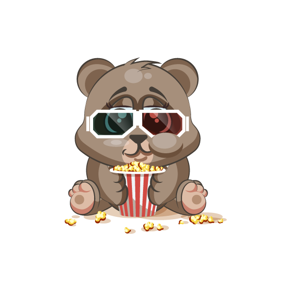 Adorable Bear Emoji Stickers messages sticker-11