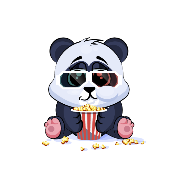 Adorable Panda Emoji Stickers messages sticker-11