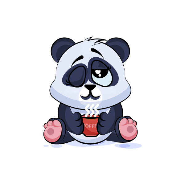 Adorable Panda Emoji Stickers messages sticker-10