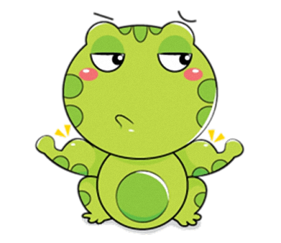 Little Frog - Cute stickers for iMessage messages sticker-5