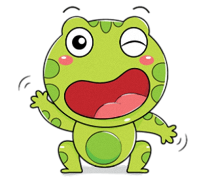 Little Frog - Cute stickers for iMessage messages sticker-10
