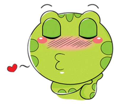 Little Frog - Cute stickers for iMessage messages sticker-7