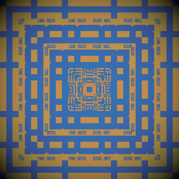 Square Art messages sticker-2