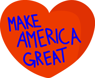 American Election Stickers messages sticker-2