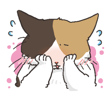 Black Cat and Calico Cat messages sticker-7