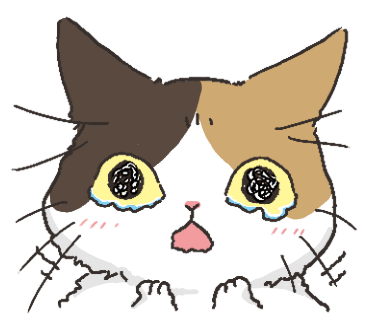 Black Cat and Calico Cat messages sticker-8