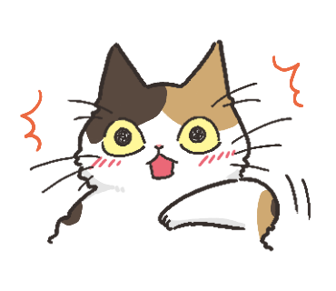 Black Cat and Calico Cat messages sticker-0