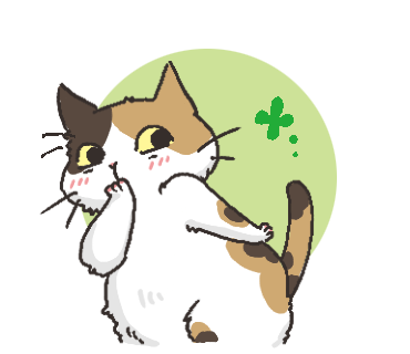 Black Cat and Calico Cat messages sticker-6