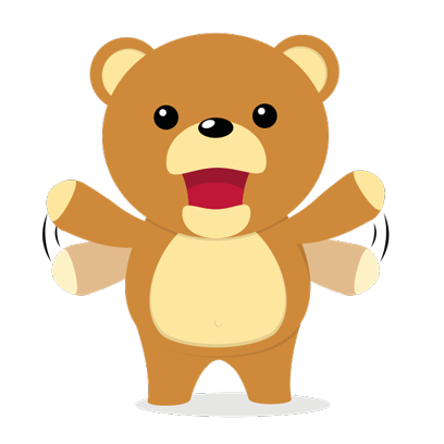 Cuddle Teddy Bear Stickers for iMessage messages sticker-7