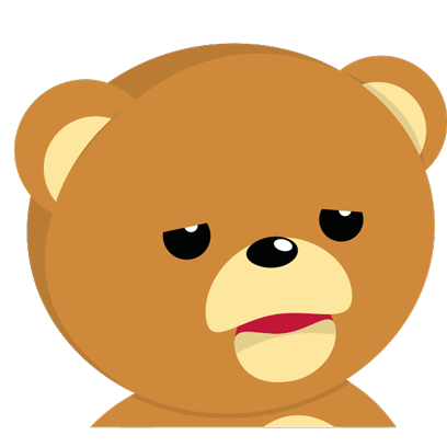 Cuddle Teddy Bear Stickers for iMessage messages sticker-11