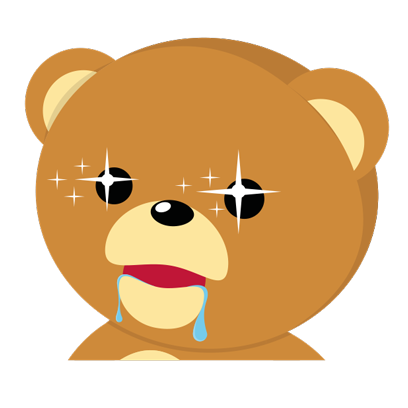 Cuddle Teddy Bear Stickers for iMessage messages sticker-8