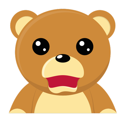 Cuddle Teddy Bear Stickers for iMessage messages sticker-5