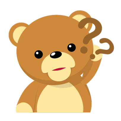 Cuddle Teddy Bear Stickers for iMessage messages sticker-3