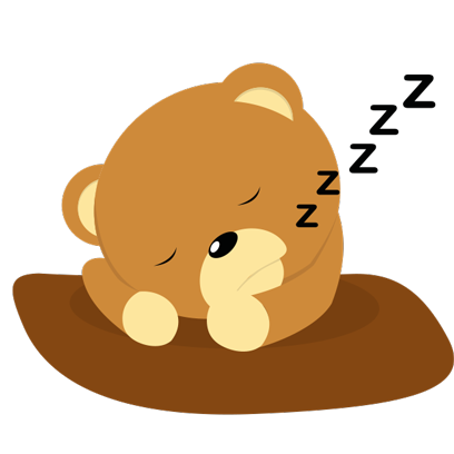 Cuddle Teddy Bear Stickers for iMessage messages sticker-9
