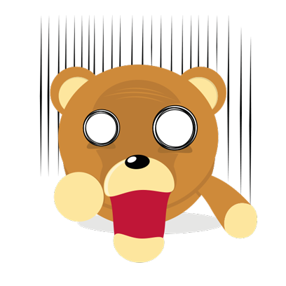 Cuddle Teddy Bear Stickers for iMessage messages sticker-1