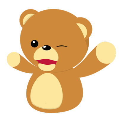 Cuddle Teddy Bear Stickers messages sticker-0