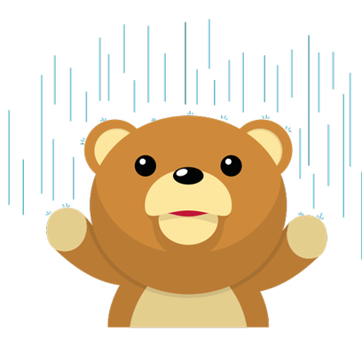 Cuddle Teddy Bear Stickers for iMessage messages sticker-10
