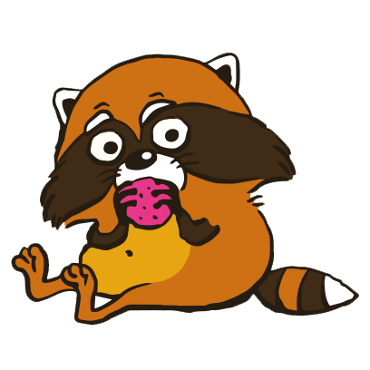 Crazy Raccoon Pet Stickers messages sticker-5