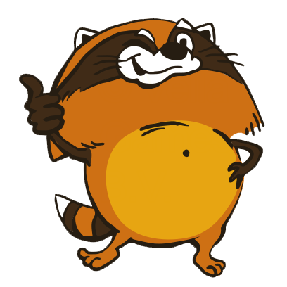 Crazy Raccoon Pet Stickers messages sticker-3