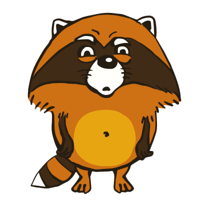 Crazy Raccoon Pet Stickers messages sticker-6