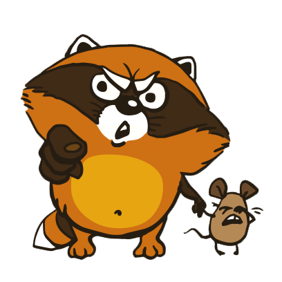 Crazy Raccoon Pet Stickers messages sticker-7