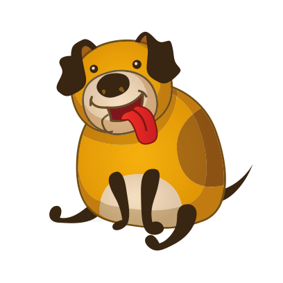 Toby the Dog messages sticker-5