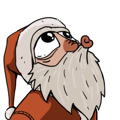 Edgy Santa messages sticker-10