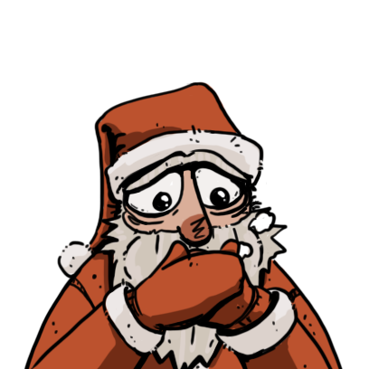 Edgy Santa messages sticker-7