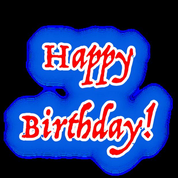 Happy Birthday! • Stickers messages sticker-4