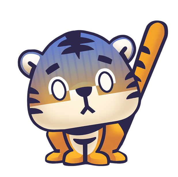 Rawai Tiger - baby tiger stickers for kids park messages sticker-3