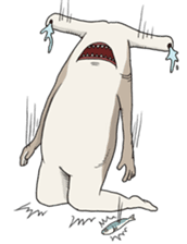 Crazy Sharks Stickers! messages sticker-5