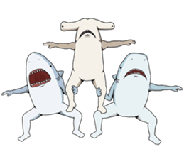 Crazy Sharks Stickers! messages sticker-0