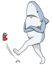 Crazy Sharks Stickers! messages sticker-7