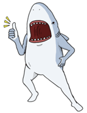 Crazy Sharks Stickers! messages sticker-1