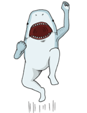Crazy Sharks Stickers! messages sticker-9