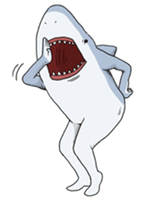 Crazy Sharks Stickers! messages sticker-4